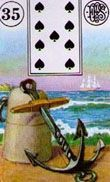 35 lenormand anchor